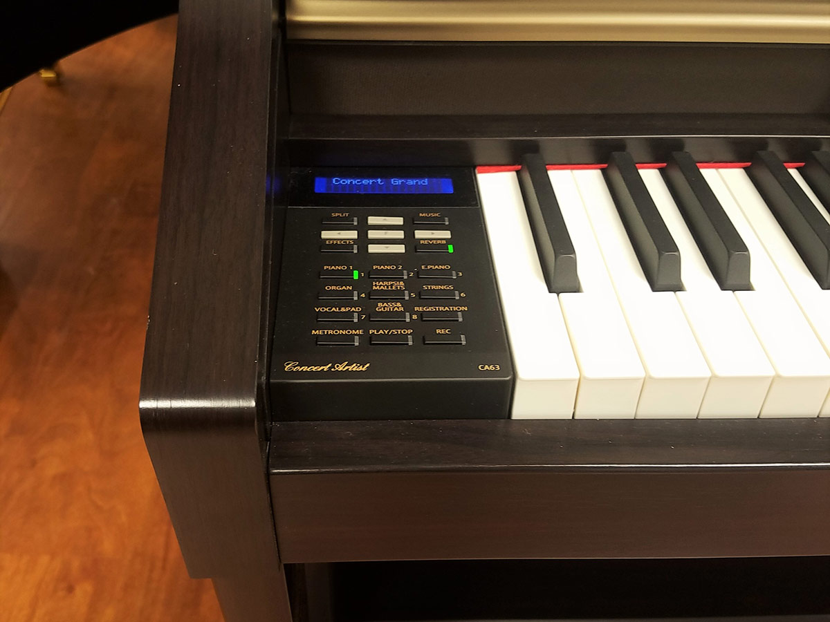 Used Digital Pianos : used kawai ca 63 rosewood digital piano schmitt music ~ Vivirlamusica.com Haus und Dekorationen