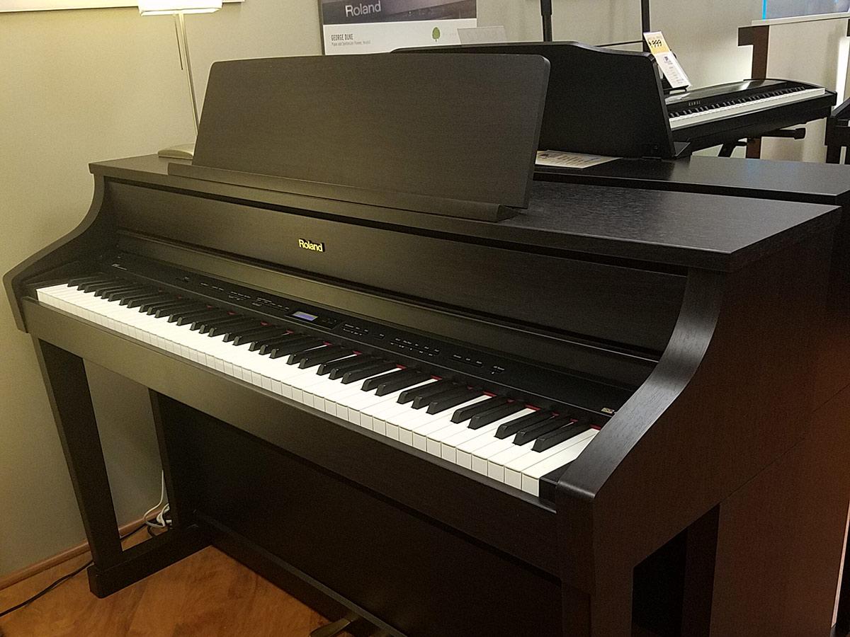 Used Digital Pianos : used roland hp 507 rosewood digital piano schmitt music ~ Vivirlamusica.com Haus und Dekorationen