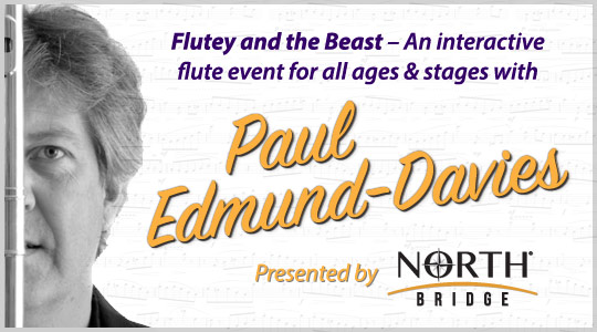 Paul Edmund-Davies: Flutey and the Beast Flute Clinic