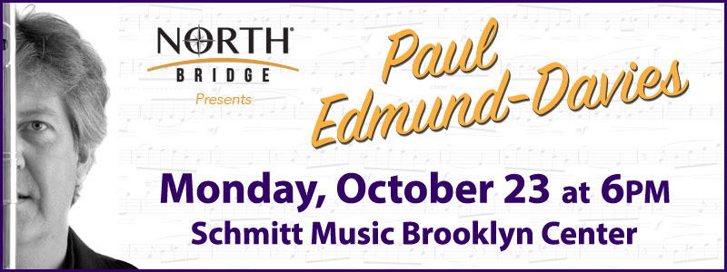 "Paul Edmund-Davies ""Flutey and the Beast"" Tour at Schmitt Music Brooklyn Center!"