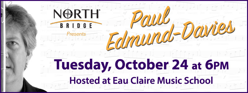 "Paul Edmund-Davies ""Flutey and the Beast"" Tour in Eau Claire!"
