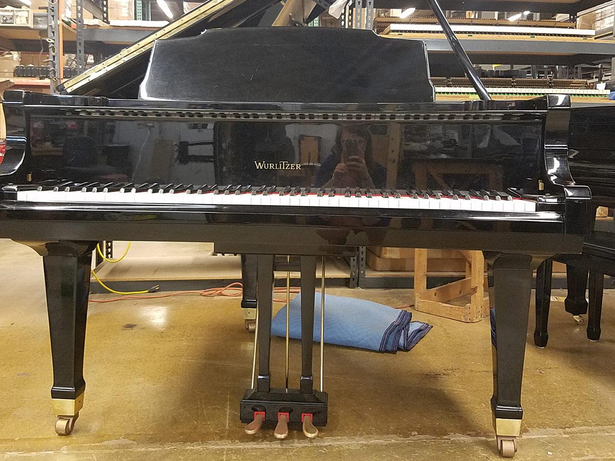 Used Wurlitzer G411 Grand Piano