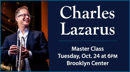 Charles Lazarus Master Class and Performance in Brooklyn Center