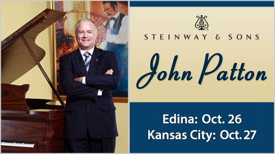 John Patton: Steinway and Sons presentation