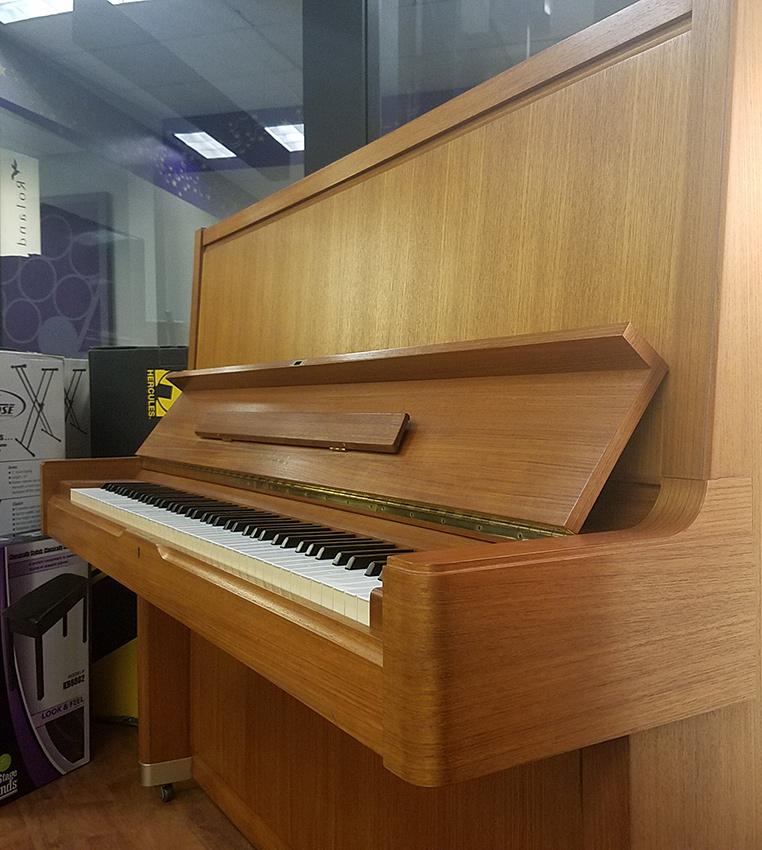 Used yamaha u7 teak upright piano schmitt music for Yamaha upright piano used