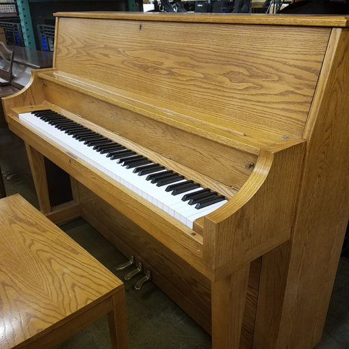 Oak Boston Upright 118S