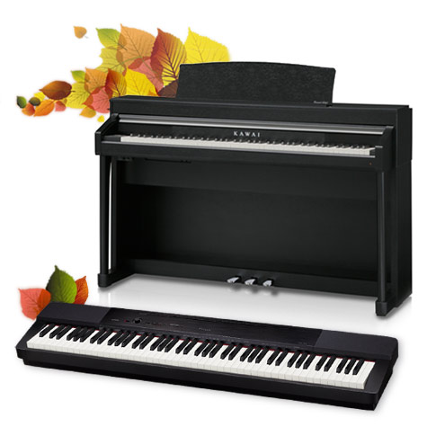 Kawai hybrid digital piano, Casio digital piano