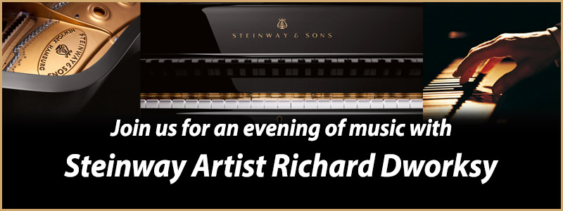 Join us for an evening of music with Steinway Artist Michael Cabe