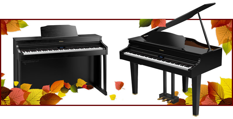 Roland digital piano closeouts, Kawai digital piano and hybrid piano clearance