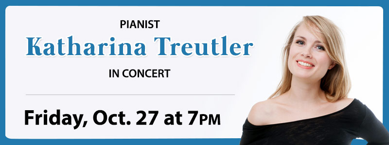 Pianist Katharina Treutler in Concert at Schmitt Music Denver