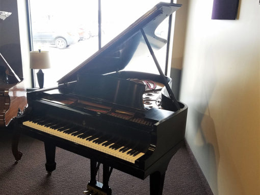 "Used Steinway B 6'11"" Ebony Satin Grand Piano"