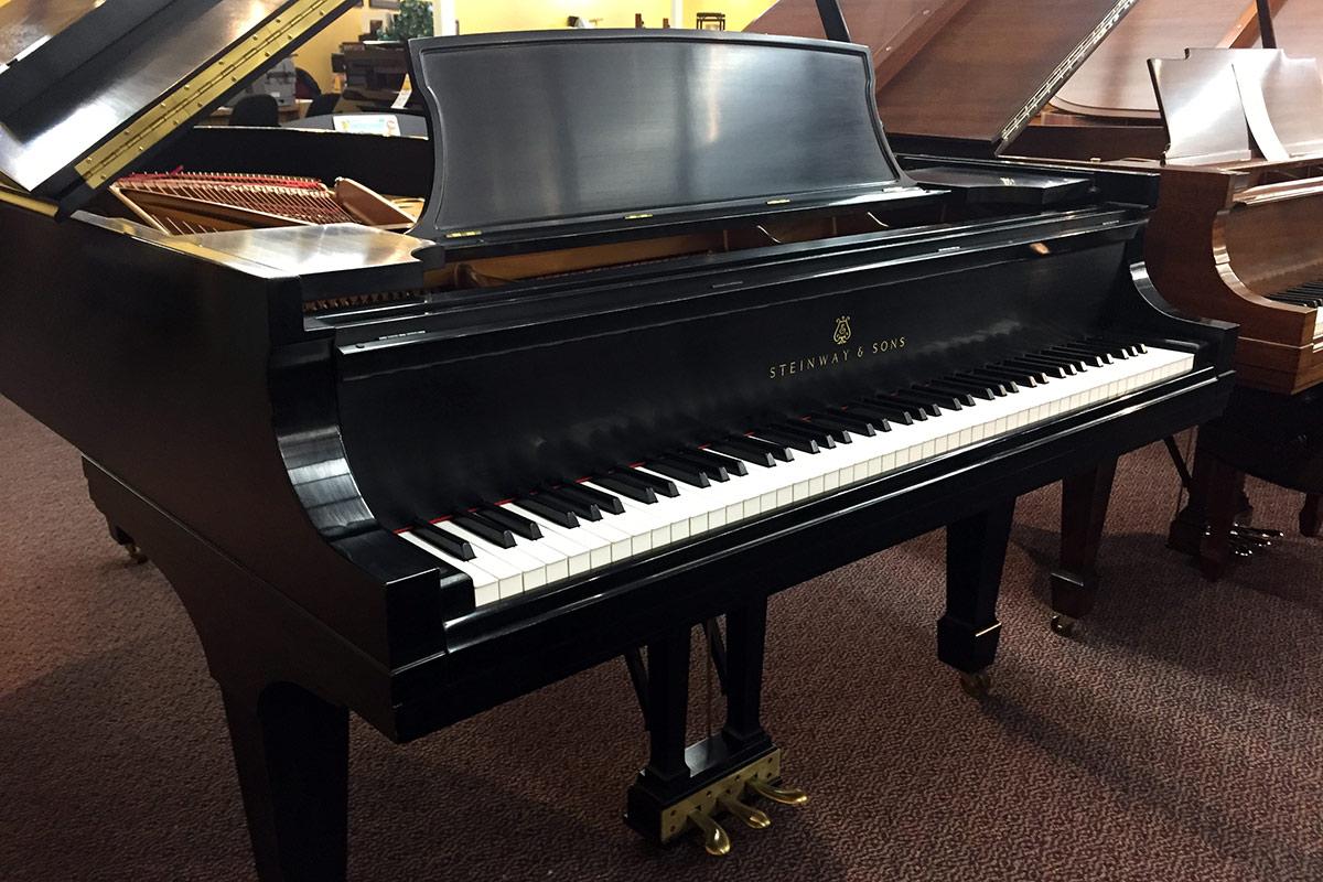 Used Steinway Model B 1989 Ebony Satin Grand Piano