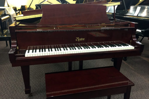Used Boston GP178 2004 Polished Mahogany Grand Piano