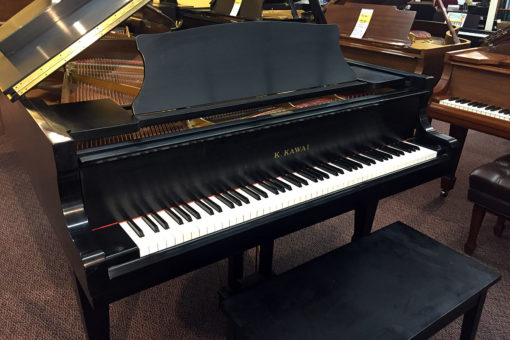Used Kawai RX2 Ebony Satin Grand Piano