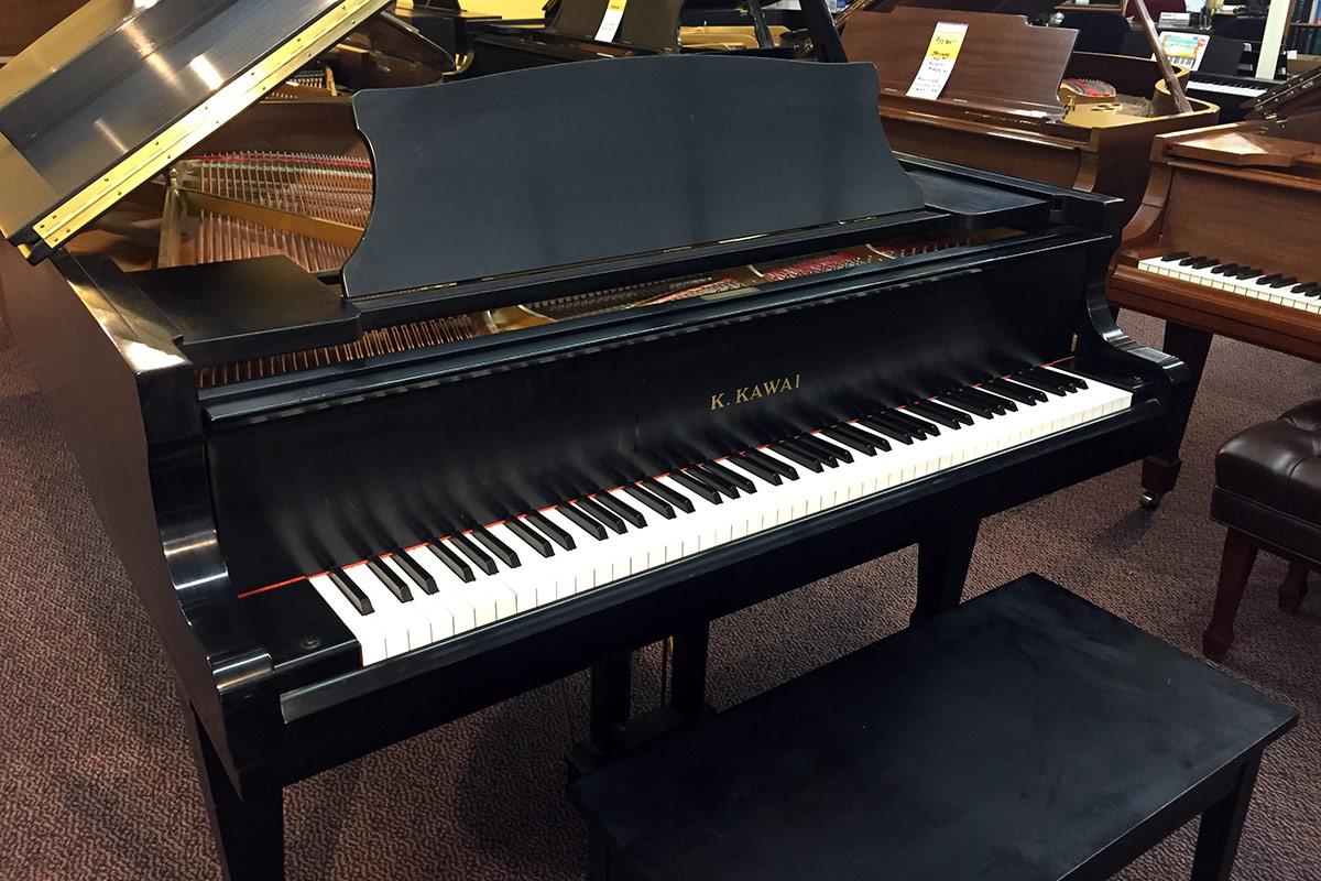 Used Kawai RX2 Ebony Satin Grand Piano