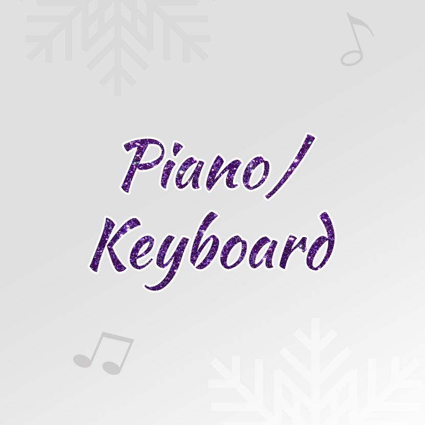 Piano/Keyboard Tile