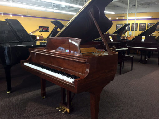 Used Steinway Model M Figured Sapele Grand Piano