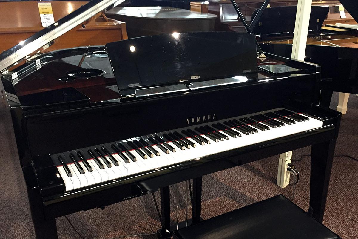Used yamaha avant n3 grand piano schmitt music for Yamaha mini grand piano price