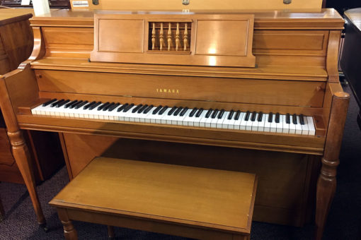 Used Yamaha Light Cherry Console Piano