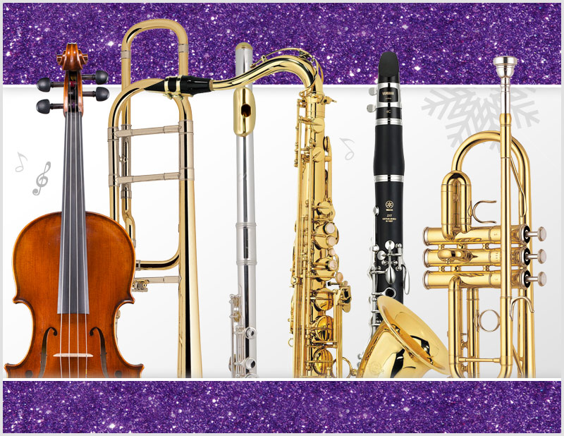Woodwind, Brass, Orchestra instrument selection event