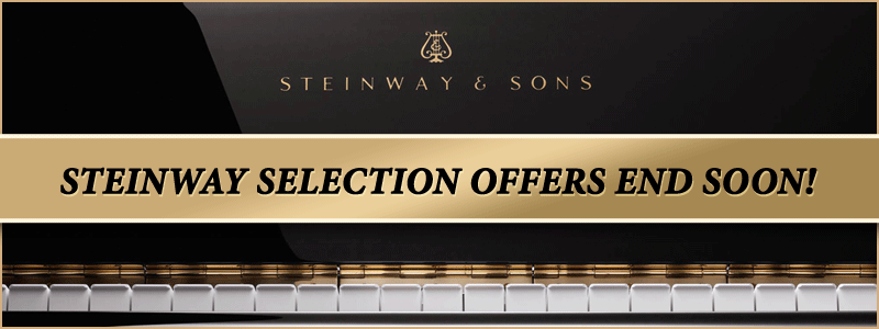 Steinway Piano Factory Rebate and Financing Offers End Soon!