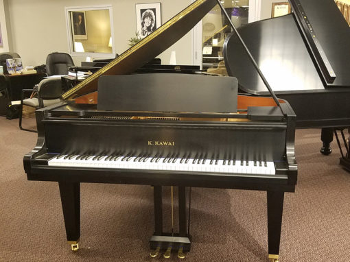"Used Kawai GE1 5'1"" Ebony Satin Grand Piano"