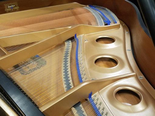 """Used Kawai GE1 5'1"""" Ebony Satin Grand Piano"""
