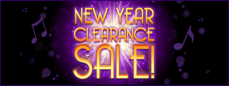 New Year Clearance Sale on now!