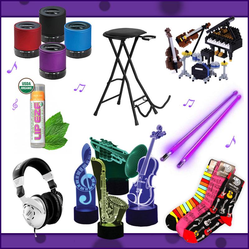 Firestix, behringer headphones, on-stage stand, bluetooth speakers, music gifts