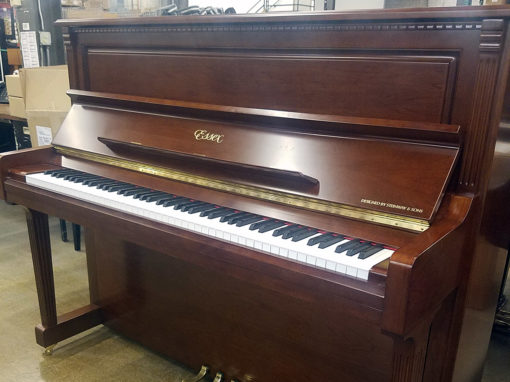 Used Essex EUP123FL Mahogany Sapele Upright Piano