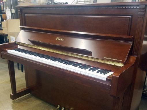 Used Essex EUP123FL Mahogany Sapele Upright Piano