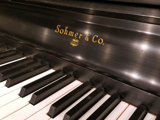 Used Sohmer & Company 46P Upright Piano