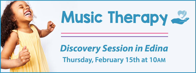 Music Therapy Discovery Session in Edina