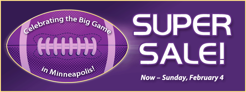 Super Sale: celebrating football with clearance savings, lesson offer and more