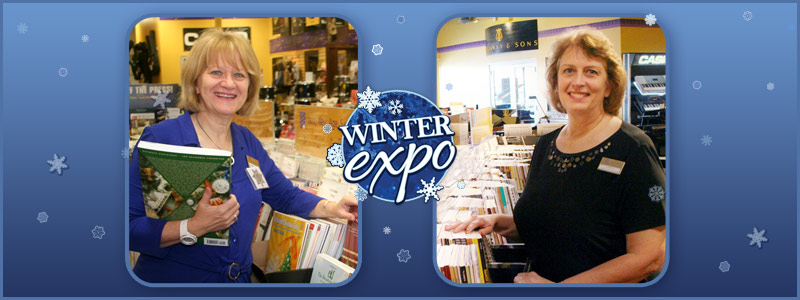 Winter Expo: Recital Workshops with Barbara Ongna & Lorna Wolthoff