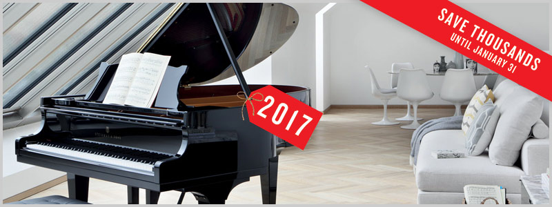Steinway and Sons Price Rollback event at Schmitt Music