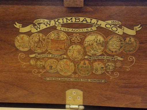 Used Kimball 4242 Upright Piano