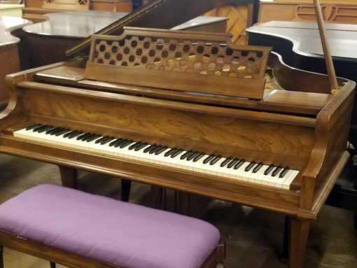 Used Kimball 5100 5' Pecan Baby Grand Piano