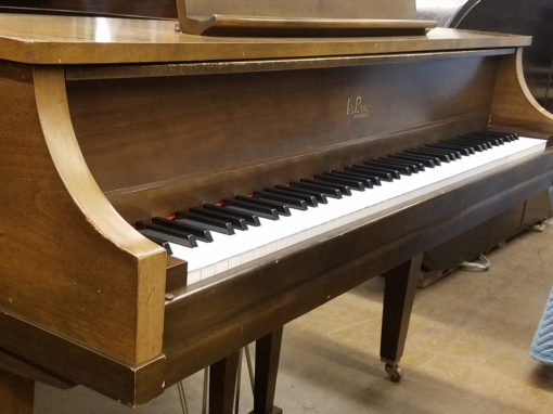 "Used Kimball La Petite 4'4"" Walnut Baby Grand Piano"