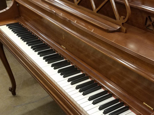 Used Steinway Louis XV Walnut Console Piano