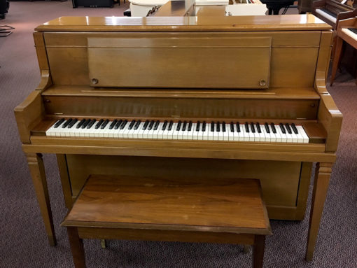 Vintage Steinway Model 4510 1976 Upright Piano