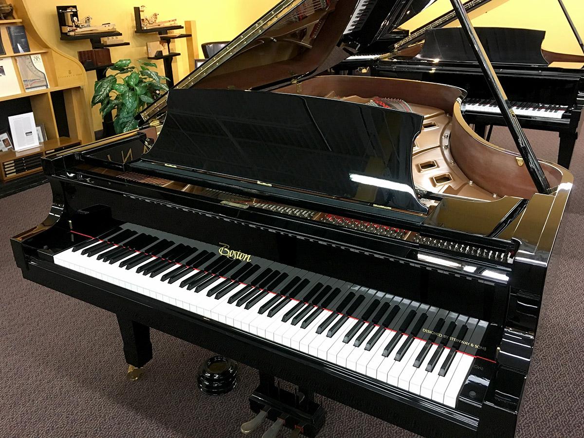 """Used Boston GP215 7'11"""" Grand Piano"""