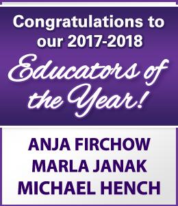 Congratulations to Schmitt Music's 2017-2018 Educators of the Year: Anja Firchow, Marla Janak, Michael Hench