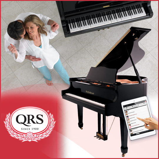 Paul A Schmitt QRS PNOmation III player piano