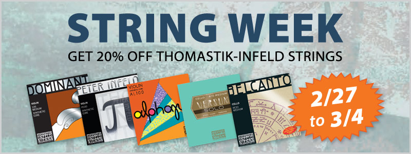 Thomastik-Infeld String Week at Twin Cities Schmitt Music stores