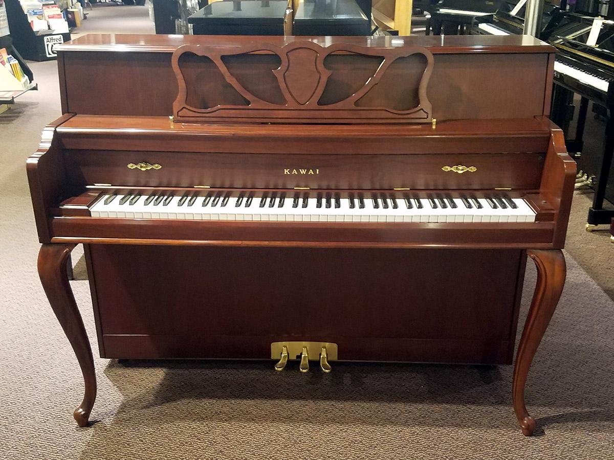 """Used Kawai 606FRC 42"""" Cherry Satin Upright Piano"""