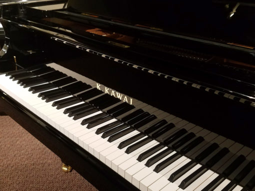 "Used Kawai GX2BLK 5'11"" Ebony Polish Grand Piano"