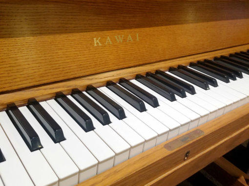 Used Kawai UST8 Oak Upright Piano