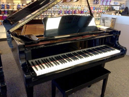 Used Young Chang G150 1989 5' Ebony Polish Grand Piano