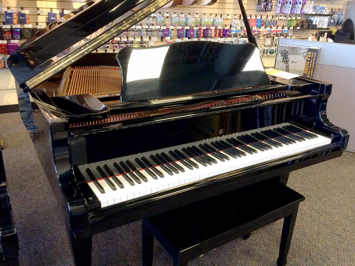 Used Young Chang G150 1989 5' Ebony Polish Grand Piano